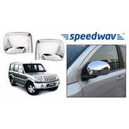 Speedwav Mahindra Scorpio Chrome Mirror Covers Set of 2
