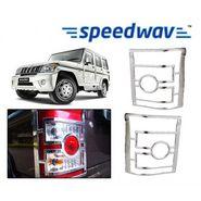Speedwav Mahindra Bolero New Chrome Tail Light Molding