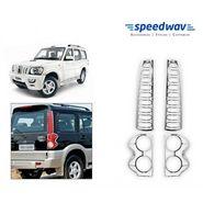 Speedwav New Mahindra Scorpio Chrome Tail Light Molding