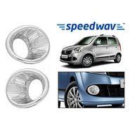 Speedwav Maruti Suzuki Wagon R (4th Gen) Chrome Fog Lamp Rims