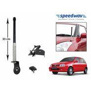 Speedwav Car Front/Rear Stylish VIP Antenna Black-Maruti Zen Old
