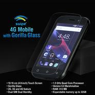 Swipe 4G Mobile with Gorilla Glass