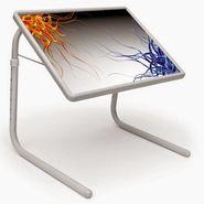 Shoper52 Designer Portable Adjustable Dinner Cum Laptop Tray Table-TABLE010