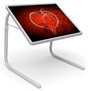Shoper52 Designer Portable Adjustable Dinner Cum Laptop Tray Table-TABLE097