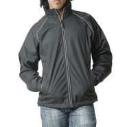 Truccer Basics Men's Light Weight Wind Breaker Jacket _tbwcblk - Black