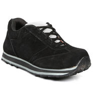 Ten Nubuck Leather Black Casuals Shoes -ts185