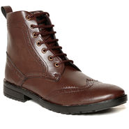 Brown Leather Boots -tens87