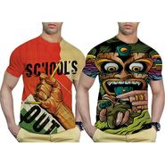 Pack of 2 Graphic Printed Tshirt by Effit_TRP0500