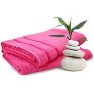 Storyathome Pink Cotton Ladies Bath Towel-TW1202-L