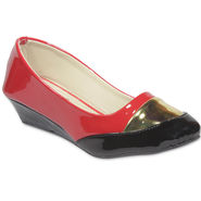Ten Patent Leather Wedges For Women_tenbl216 - Red