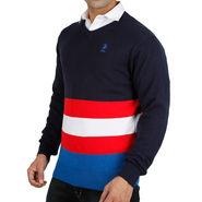 Branded Full Sleeves Sweater_Uspa06 - Navy