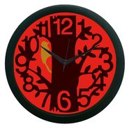 meSleep Tree Wall Clock (With Glass)-WCNW-01-40