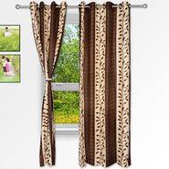 Story @ Home Coffee 2 pc Window curtain-5 feet-WNR3016