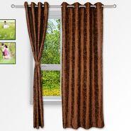 Story @ Home Coffee 2 pc Window curtain-5 feet-WNR3019
