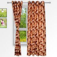 Story @ Home Maroon 2 pc Window curtain-5 feet-WNR3060