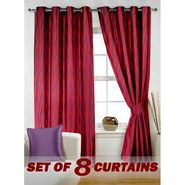 Set of 8 Printed  Window curtain-5 feet-WNR_4_3023