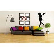 Funny Girl Decorative Wall Sticker-WS-08-103