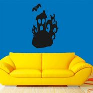 Funny Face Black Wall Sticker-WS-08-114