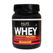 INLIFE Whey Protein 1 Lb (454g) Vanilla Flavor