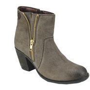 Delize Waxy Suede Boots 6978-Brown