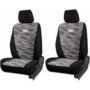 Branded Printed Car Seat Cover for Mahindra Verito - Black