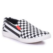 Foot n Style Canvas Multicolor Casual Shoes -Fs8007