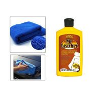 Combo of Mr. Leather Polish Formula 1 Car Multipurpose Protectant Kit With Cloth