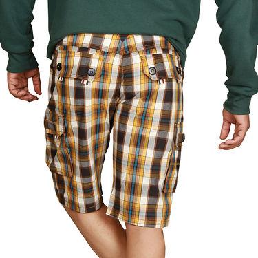 Sparrow Clothings Cotton Cargo Shorts_wjcrsht01 - Multicolor
