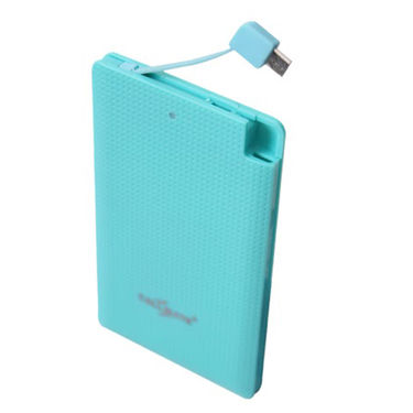 Callmate Power Bank Power Card 4000 mAh - Sky Blue