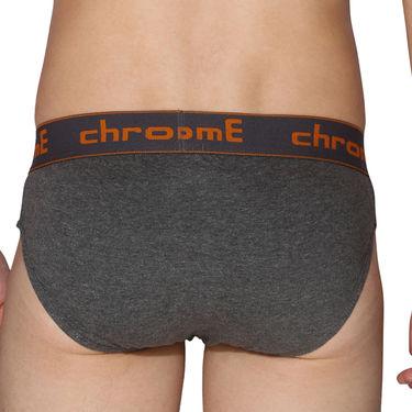 Pack of 3 Chromozome Regular Fit Briefs For Men_10015 - Multicolor