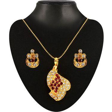 Kriaa Combo of 8 Jewellery Set With Free Pearl Mala Set Mangalsutra & Earring