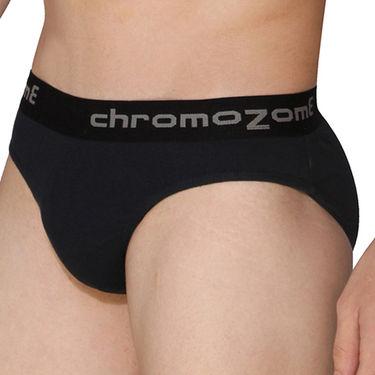 Pack of 3 Chromozome Regular Fit Briefs For Men_10169 - Multicolor