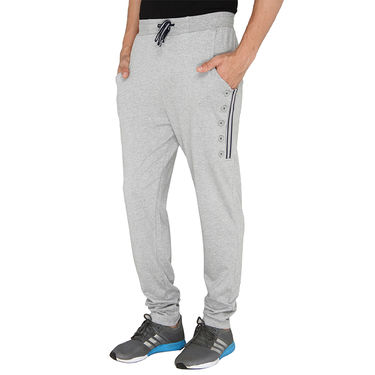 Chromozome Regular Fit Trackpants For Men_10524 - Grey