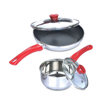 11 Pcs Stainless Steel Cook & Serve Set