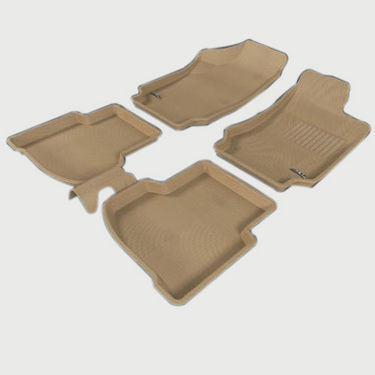 3D Car Mats For Ford Fiesta Car