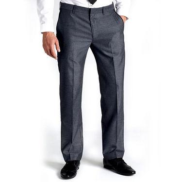 Raymond Polyblended Pant Material For Men_MKR_PNT_BLU_01 - Red & Green