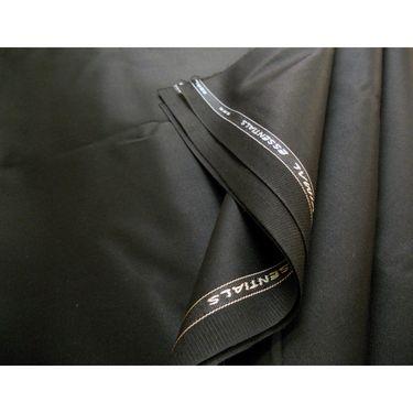 Pack of 2 Vimal Suit Length (Coat + Trouser) For Men - Black & Grey