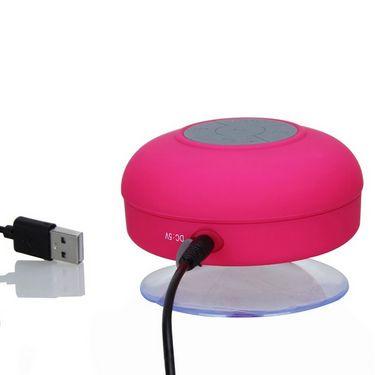 Callmate BTS-06 Bluetooth Shower Speaker - Pink