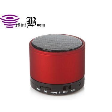 Callmate Sonicten Bluetooth Speaker with Free Anti Slip Mat- Red