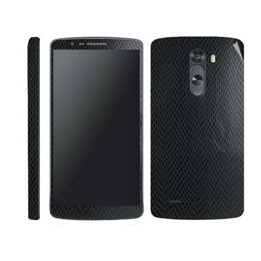 Snooky Mobile Skin Sticker For LG G3 - Black