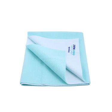 Newnik Cozymat Reusable Absorbent Sheets / Under Pads - Sea Green-Single Bed