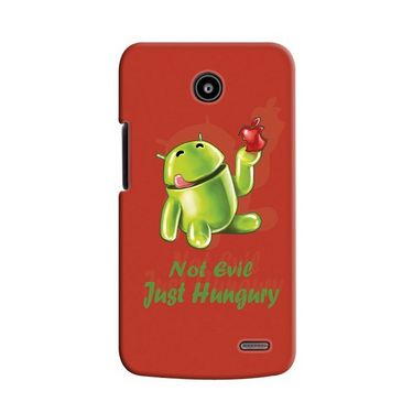 Snooky 19915 Digital Print Hard Back Case Cover For Lenovo A820 - Red