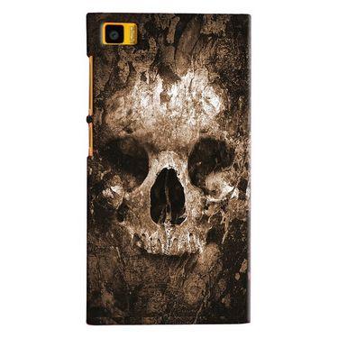 Snooky 20057 Digital Print Hard Back Case Cover For Xiaomi Mi3 - Brown