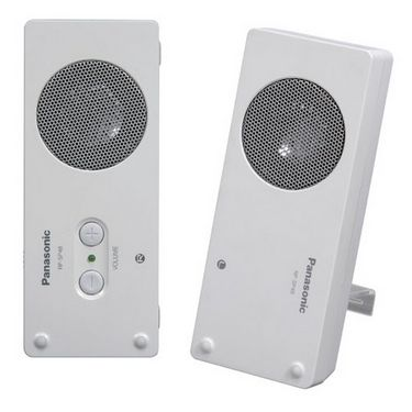 Panasonic RP-SP48E-W Multimedia Speakers for iPods, MP3, Mobile - White
