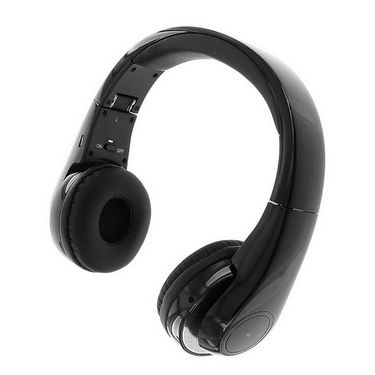 Callmate Bluetooth Wireless Stereo Headset BSH555- Black