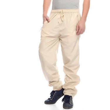 Delhi Seven Cotton Plain Lower For Men_Mupjm003 - Off White