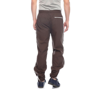 Delhi Seven Cotton Plain Trackpant For Men_Mutpm028 - Brown