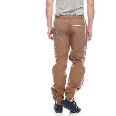 Delhi Seven Cotton Plain Trackpant For Men_Mutpm029 - Brown