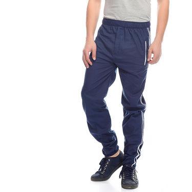 Delhi Seven Cotton Plain Trackpant For Men_Mutpm030 - Blue