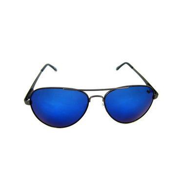 Flying Machine  Aviator Sunglasses For Men_fms109col004105 - Blue